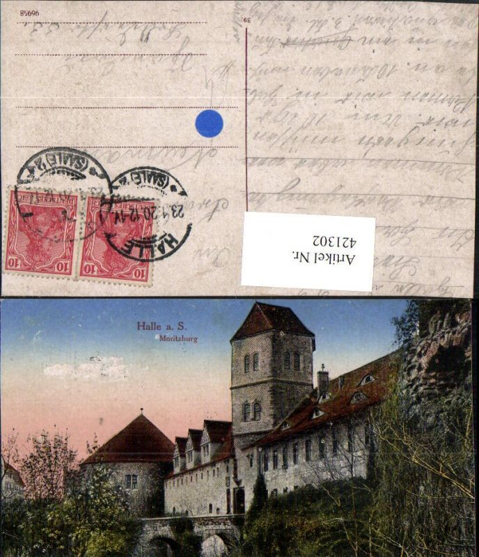 421302,Halle an d. Saale Moritzburg
