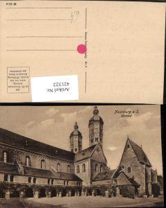 421322,Naumburg an d. Saale Dom Kirche Hof