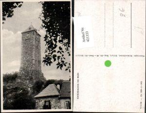 421333,Halle an d. Saale Burg Ruine Giebichenstein Turm