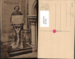421336,Naumburg an d. Saale Dom Kirche Innenansicht Chorknabe Statue