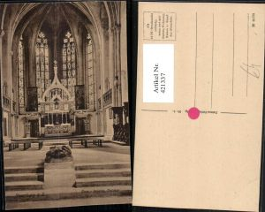 421337,Naumburg an d. Saale Dom Kirche Innenansicht Ostchor Altar