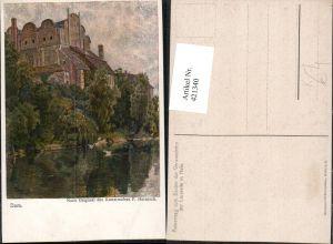 421340,Künstler AK P. Harnisch Halle an d. Saale Dom Kirche