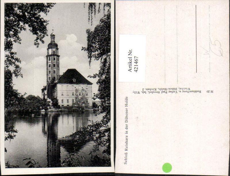 421467,Bad Schmiedeberg Schloss Reinharz in der Dübener Heide