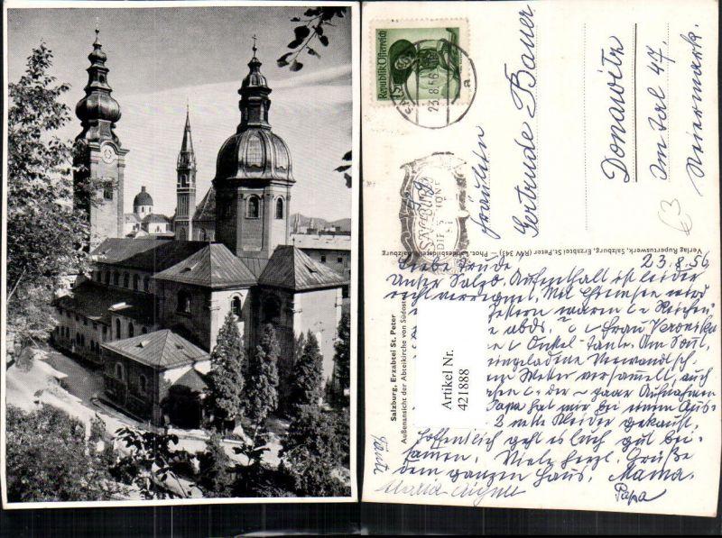 421888,Salzburg Erzabtei St. Peter Kirche