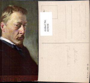 425858,Künstler Ak Hugo Wolf Portrait Komponist pub B.K.W.I. 874/31