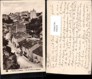 426233,Aquitanien Dordogne Nontron Vue sur la Rue de Perigueux Teilansicht