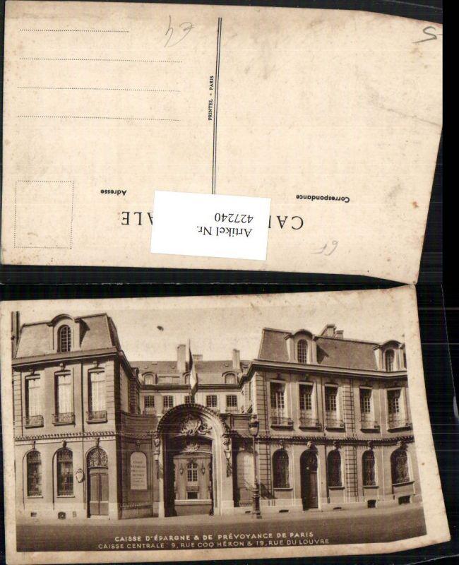 427240,Ile-de-France Paris Caisse d'Epargne Prevoyance de Paris Gebäude