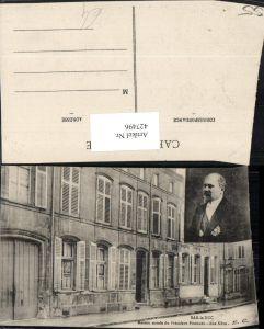 427496,Lothringen Meuse Bar-le-Duc Maison natale du President Poincare Haus Portrait