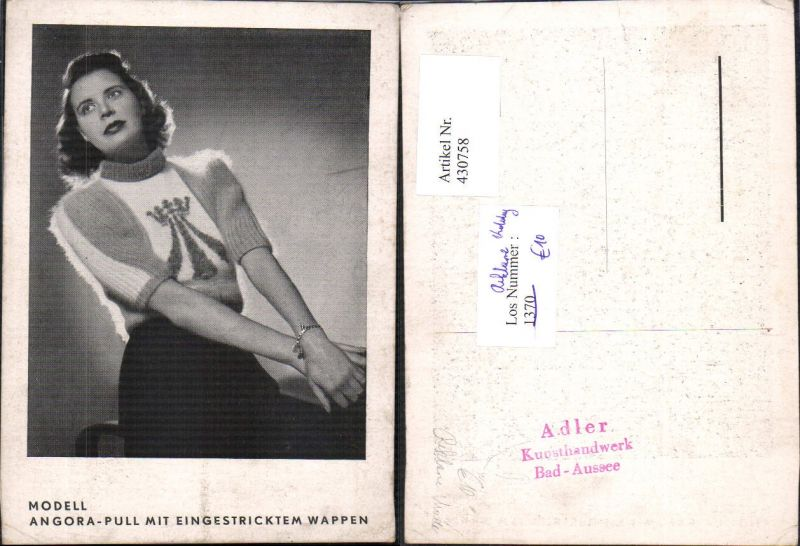 430758,Reklame Bad Aussee Adler Mode Geschäft Kunsthandwerk Frau Mode