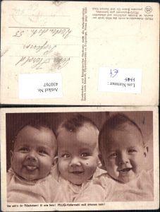 430767,Reklame Pflug Hafermehl Babies Baby Kleinkinder