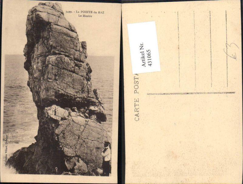 431065,La Pointe du Raz Le Menhir Besondere Gesteinsformation Felsen