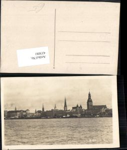 433081,Latvia Lettland Riga Teilansicht Kirche