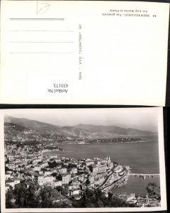 433173,Monaco Monte-Carlo Vue generale Le Cap Martin et l'Italie Totale