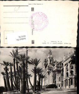 433176,Monaco Monte-Carlo Le Casino et les Terrasses Palmen