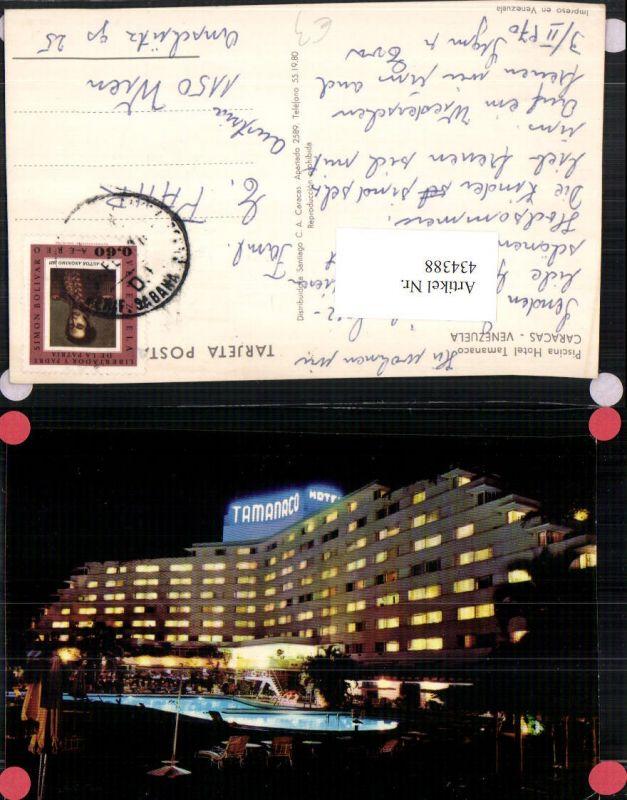 434388,Venezuela Caracas Piscina Hotel Tamanaco Pool