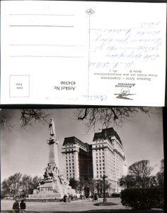 434390,Argentina Buenos Aires Plaza Colon m. Kriegsministerium Gebäude Denkmal