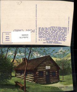434446,Pennsylvania Valley Forge Continental Hospital Hut Hütte