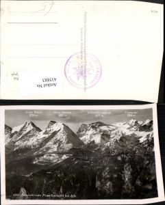 435883,Fernsicht vom Patscherkofel b. Igls Bergkulisse