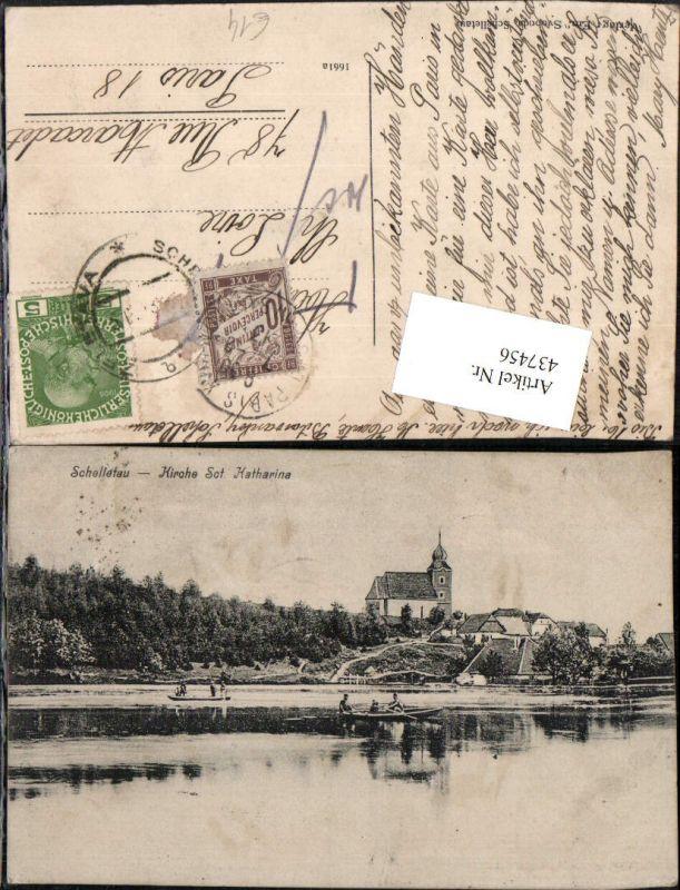 437456,Schelletau Zeletavka Kirche St. Katharina