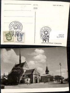 437493,Pardubice Pardubitz Stalingradske namesti Platz Kirche Turm