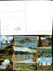 437901,Mattsee Totale Segelboote Strandbad Park Mehrbildkarte