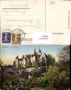 440035,Neuchatel Neuenburg Le Chateau Schloss