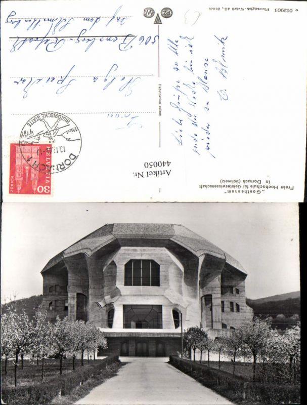 440050,Dornach Goetheanum Hochschule f. Geisteswissenschaft Kt Solothurn