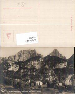 440203,Wallenstadtberg Sanatorium m. Brisi u. Zustall Kt St Gallen pub Frei & Co 1779