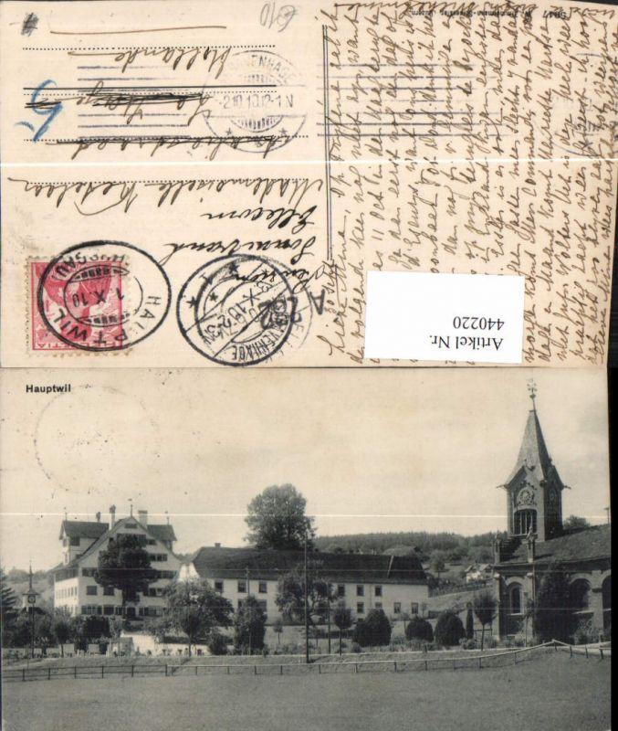 440220,Hauptwil Teilansicht Kirche Kt Thurgau