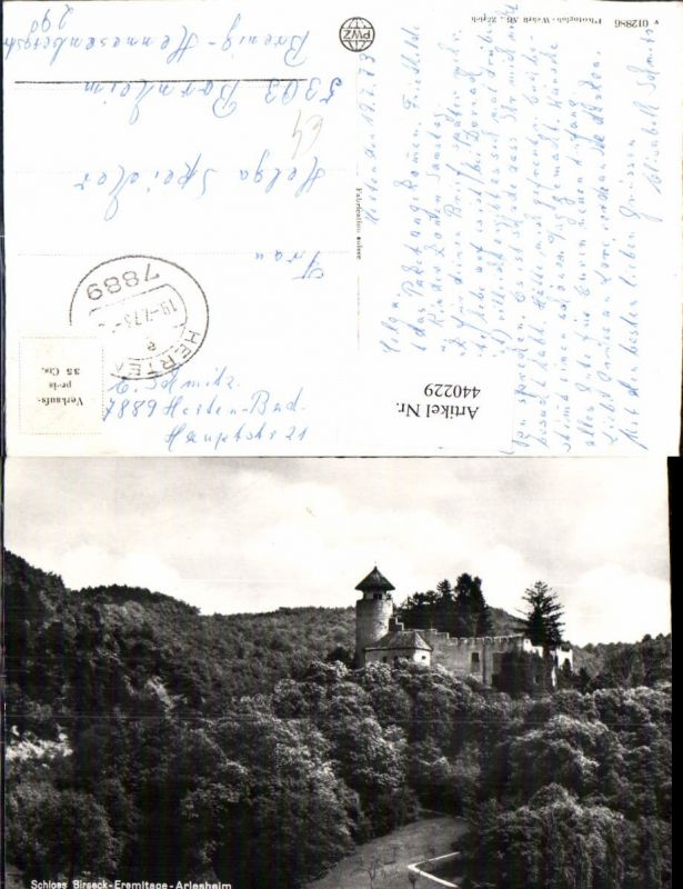 440229,Schloss Birseck Eremitage Arlesheim Kt Basel-Land
