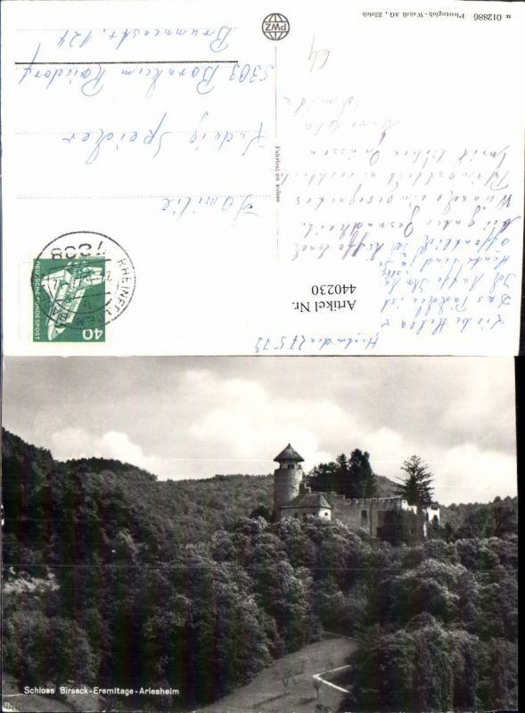440230,Schloss Birseck Eremitage Arlesheim Kt Basel-Land 0