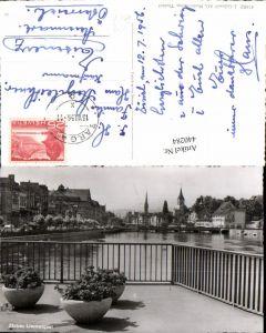 440284,Zürich Teilansicht Limmatquai Fluss Brücke