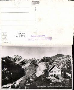 440308,Gasthaus Ebenalp m. Altmann Säntis Bergkulisse Kt Appenzell