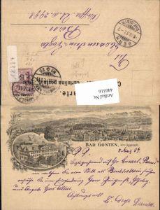 440316,Vorläufer Bad Gonten Totale Mehrbildkarte Kt Appenzell