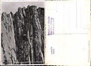 440323,Säntis Felsentreppe am Lysengratweg Felswand Kt Appenzell
