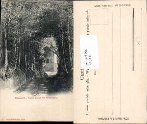 440331,Küssnacht Hohle Gasse m. Tellskapelle Kapelle Kt Schwyz