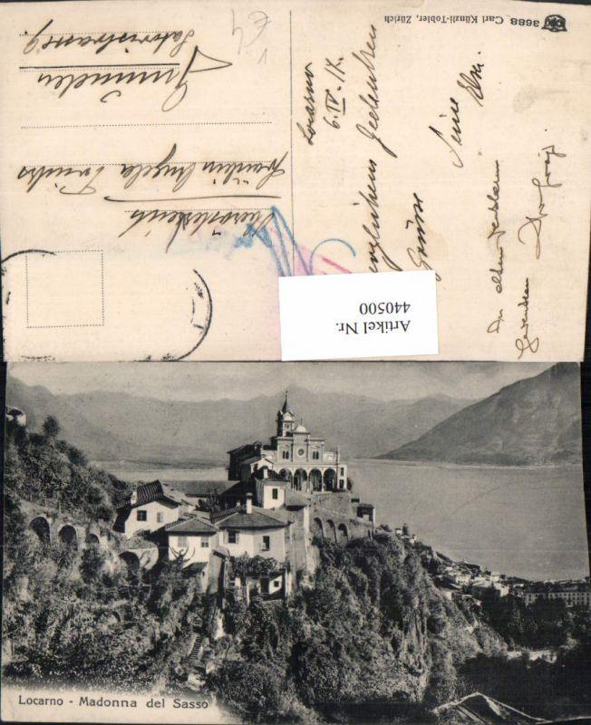 440500,Locarno Madonna del Sasso Kirche Kt Tessin pub Carl Künzli-Tobler 3688