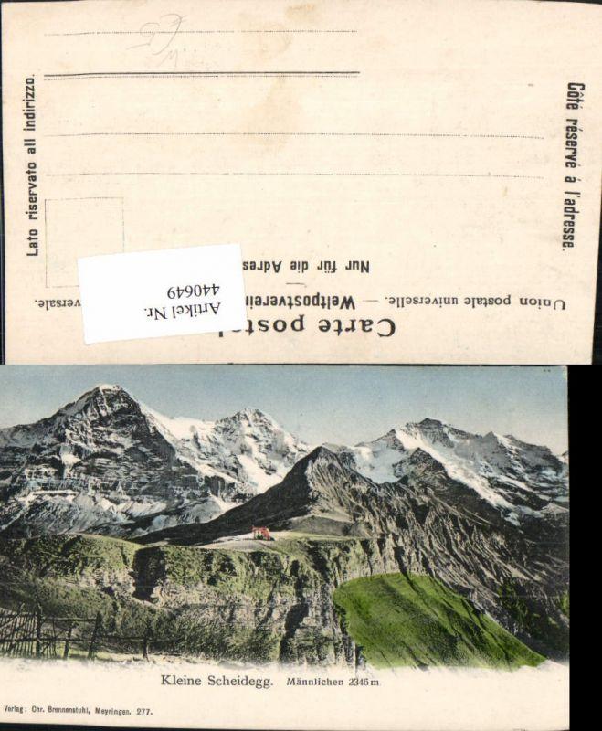 440649,Kleine Scheidegg Männlichen Bergkulisse Kt Bern
