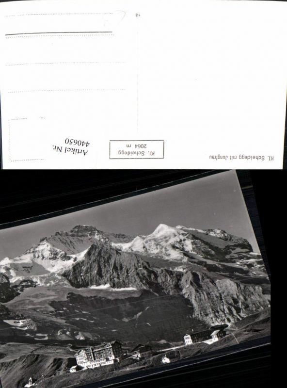 440650,Kleine Scheidegg m. Jungfrau Bergkulisse Kt Bern