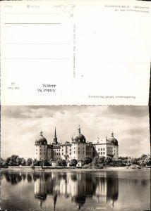 444876,Foto Ak Barockmuseum Schloss Moritzburg Eisenberg-Moritzburg
