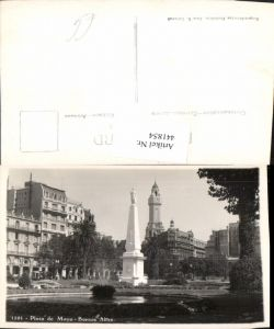 441854,Argentina Buenos Aires Plaza de Mayo Platz Monument