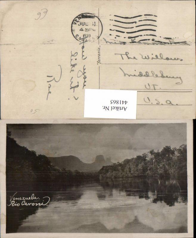 441865,Venezuela Rio Cavoni Fluss