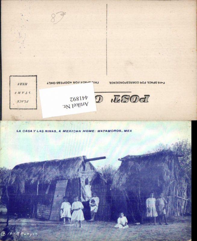441892,Mexico Tamaulipas Matamoros La Casa y las Ninas Hütten