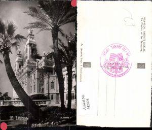 442076,Monaco Monte Carlo Le Casino et les Terrasses Palmen