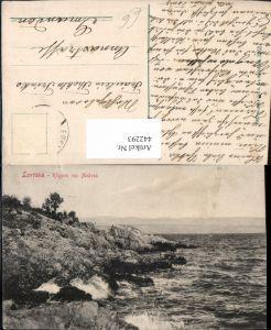 442293,Croatia Lovrana Lovran Klippen von Medvea Küste