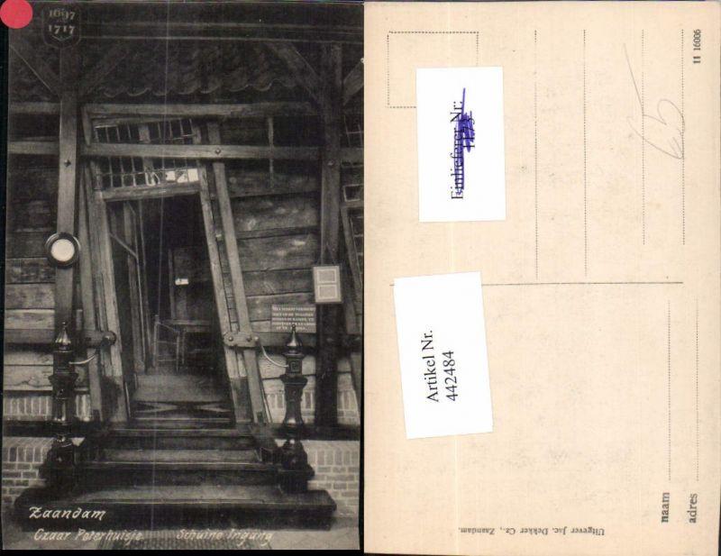 442484,Netherlands Zaandam Zaanstad Czaar Peterhuisje Haus Tür