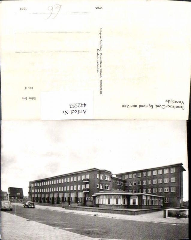 442553,Netherlands Egmond aan Zee Troelstra-Oord Voorzijde Gebäude