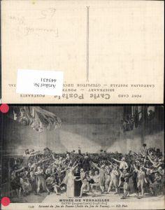445431,Künstler Ak J. L. David Franz. Revolution Serment du Jeu de Paume 19. Jhdt.