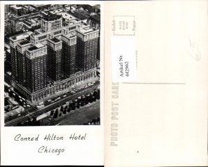 442962,Illinois Chicago Conrad Hilton Hotel Gebäude
