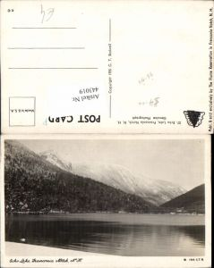 443019,New Hampshire Franconia Notch Echo Lake See Bergkulisse